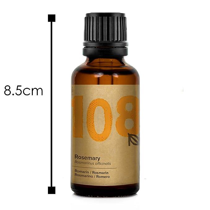 Naissance Aceite Esencial de Romero n. º 108 – 30ml - 100% Puro, vegano y no OGM