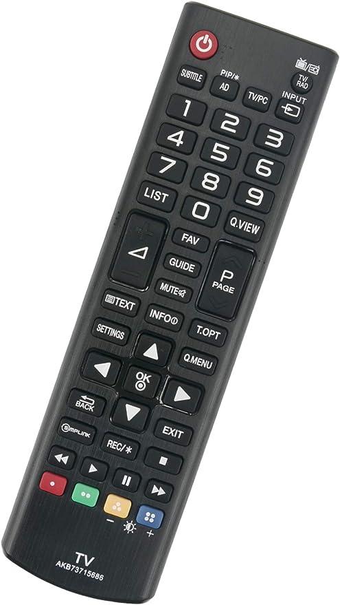 T/él/écommande pour LG 43LH541V