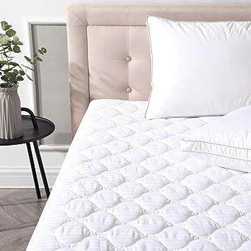 Classic Marcas Defend-a-Bed Deluxe Acolchado Protector de colchón Impermeable: Amazon.es: Hogar