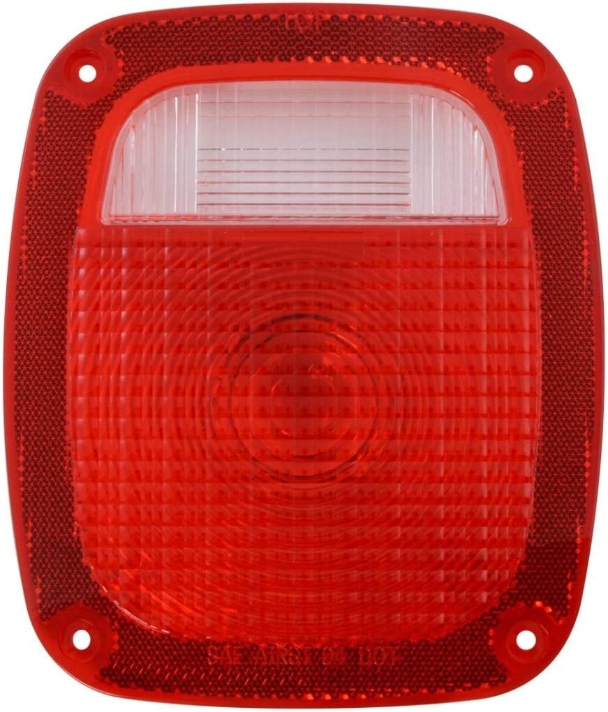 GG Grand General 80792 Red Plastic w//Small Clear Lens On Top