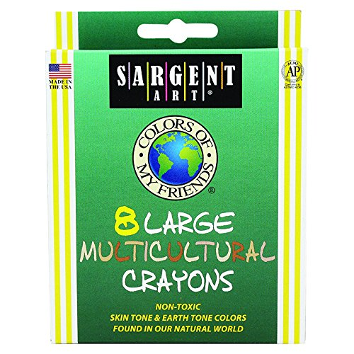 SARGENT ART INC. 8CT COLOR OF MY FRIENDS LARGE (Set of 50)