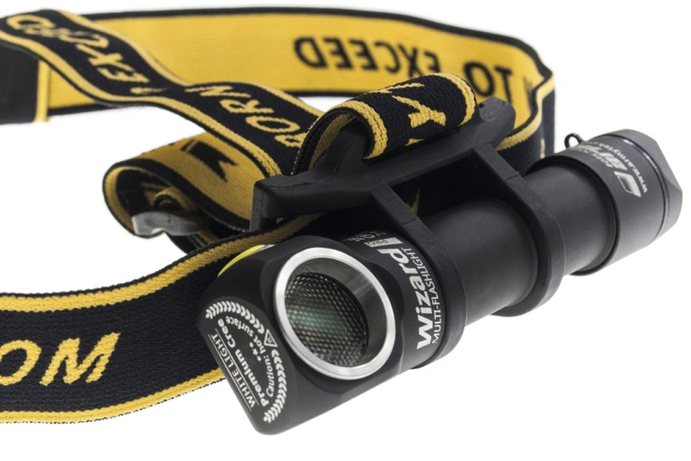 ArmyTek Wizard Pro v3 2300 Lumen Magnetic USB Rechargeable LED Headlamp and BONUS LumenTac Battery Organizer by Armytek (Image #4)