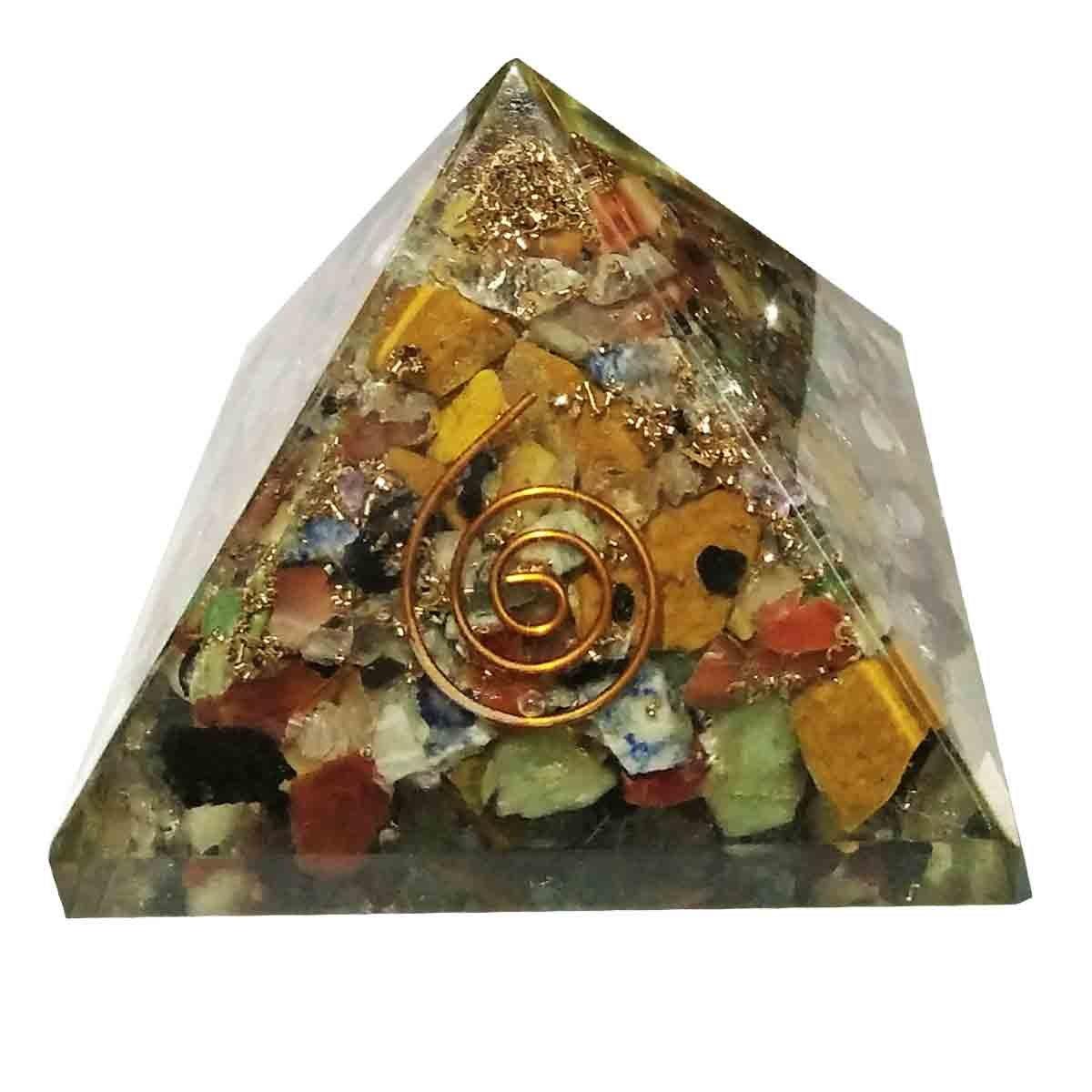 Multistone 7 Chakra Pyramide Energie Generator Spritual Heilung ...