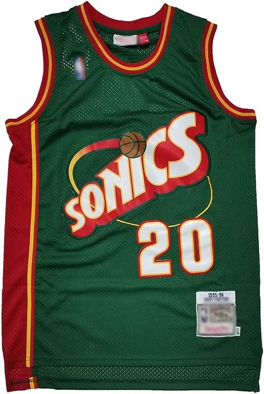 HS-ATI NICE Camisetas de Baloncesto Uniforme para Hombre Gary ...