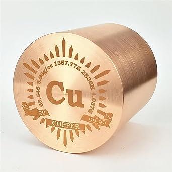 1 kg bellas inflexin cobre cilndrico de metal 53 mm de 9995 1 kg bellas inflexin cobre cilndrico de metal 53 mm de 9995 urtaz Choice Image