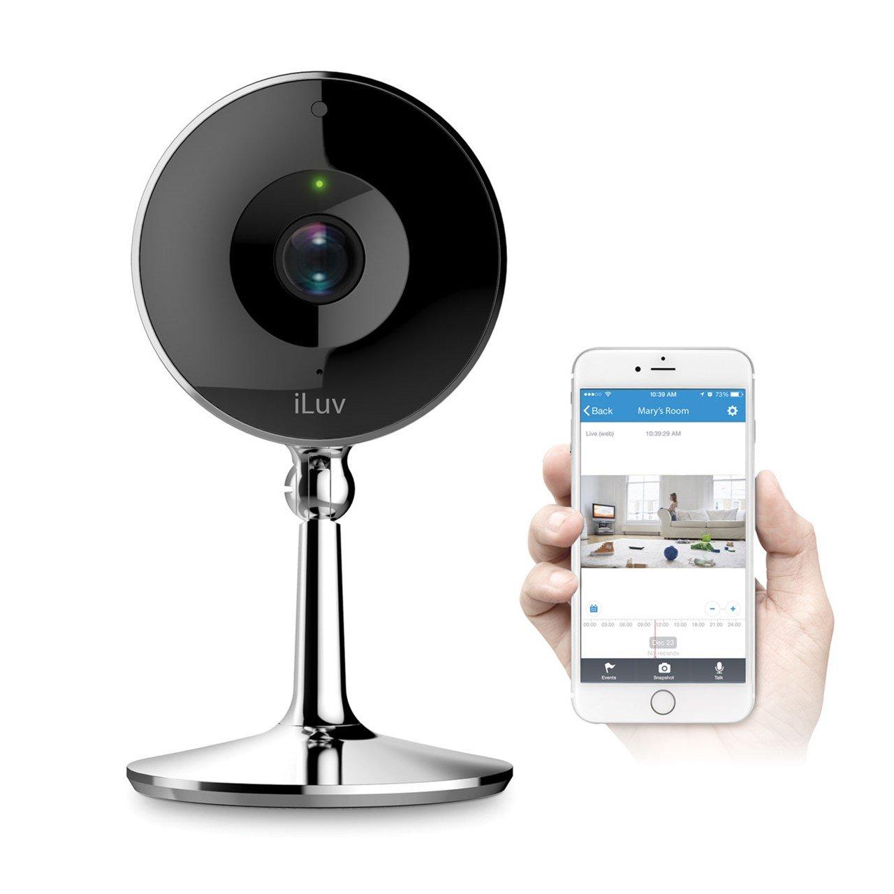 iLuv mySight 2K Wi-Fi Cloud-Based HD Video Camera