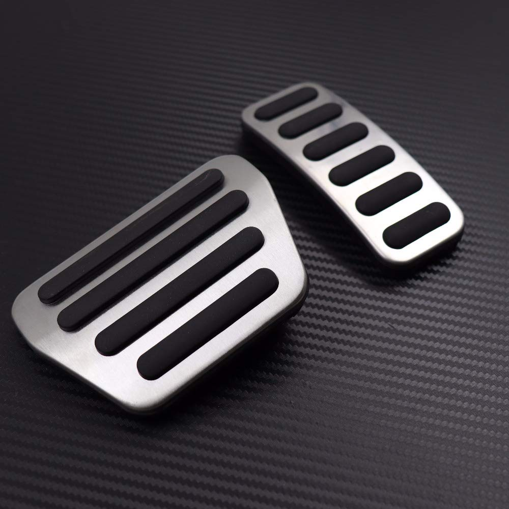Stainless Steel Gas Fuel Brake Pedal Pad Cover for Land Rover Range Rover Sport 2004-2017 Accessories Car Styling
