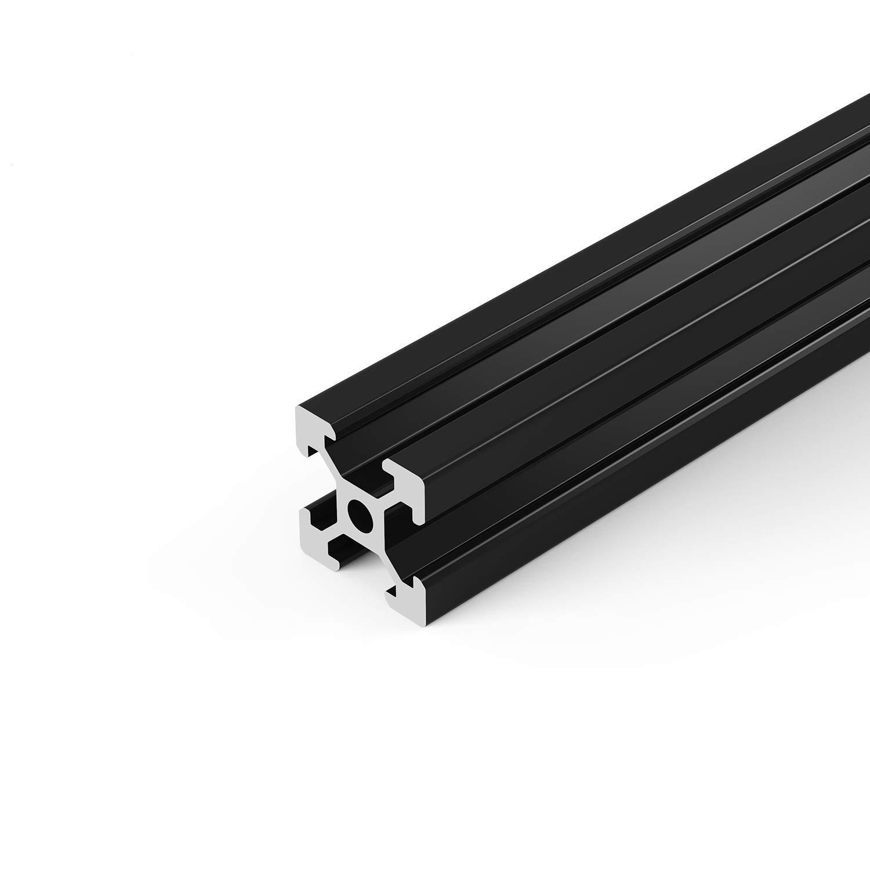 Twotrees 4 Pcs 2020 CNC 3D Printer Parts European Standard Anodized Linear Rail Aluminum Profile Extrusion for DIY 3D Printer 300mm