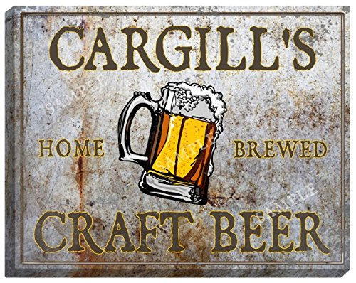 cargills-craft-beer-stretched-canvas-sign-24-x-30