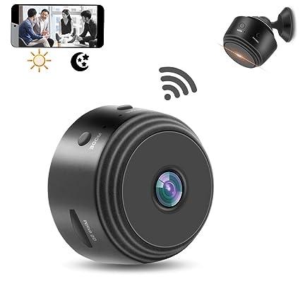 Cámara Oculta espía WiFi,1080P Inalámbrico Cámara de Seguridad Oculta doméstica con Grabador de Video