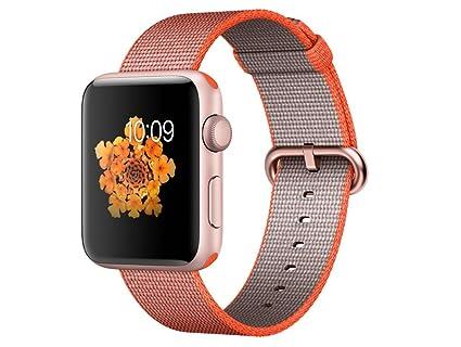 Apple Watch Series 2 Reloj Inteligente Oro Rosado OLED GPS (satélite) - Relojes Inteligentes