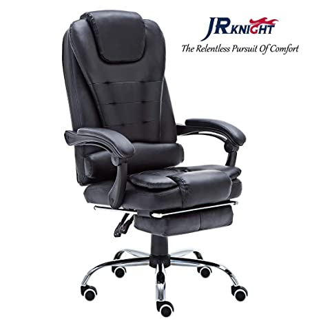Silla gaming JR Knight LC-05BK ergonómica, giratoria, racing, para casa u