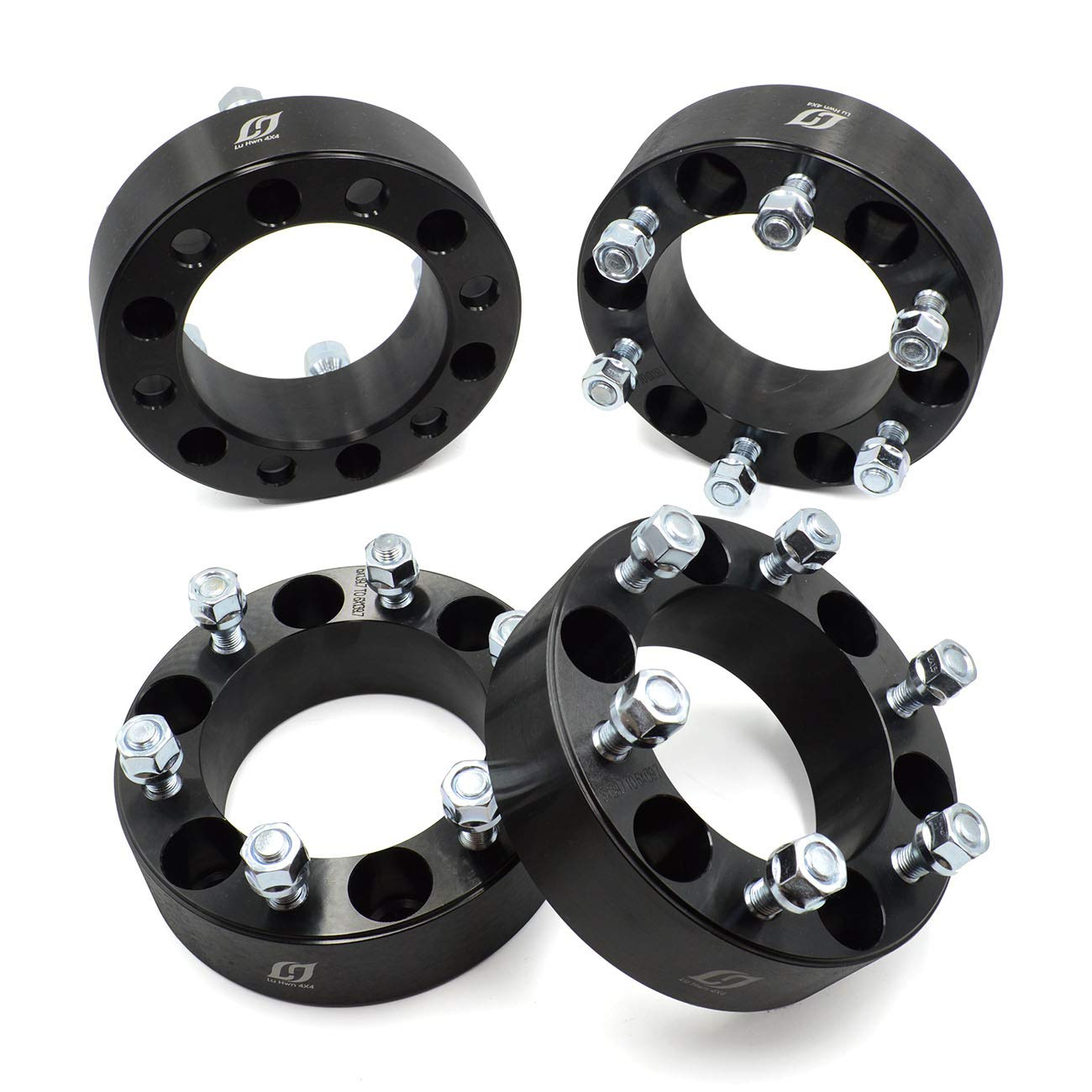 """4X 1.5/"""" Thick 6x135 6 Lugs Wheel Spacers 14x2 For 2006-2014 Lincoln Mark LT"""