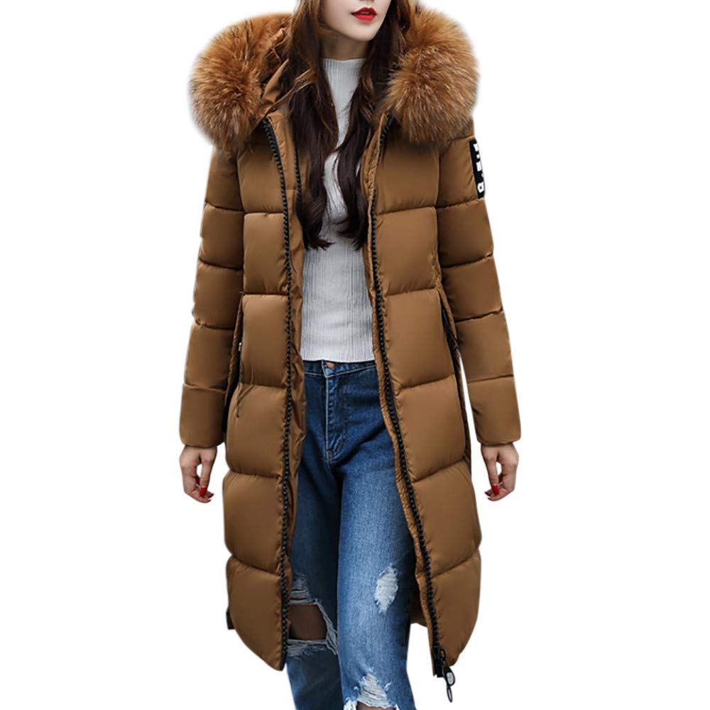 Clearance Sale for Women Coat.AIMTOPPY Women Solid Casual Thicker Winter Slim Down Jacket Coat Overcoat