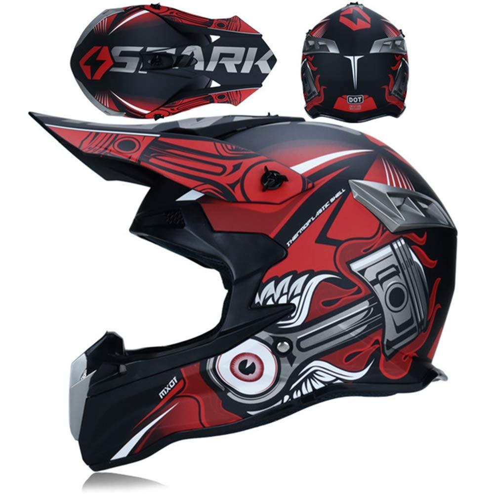 M/änner Full Face Motocross Helme Abs Material Anti Crash Downhill Jugendliche Off Road Farbige Schutzhelm Outdoor Frauen Vollschutz Motorradhelm