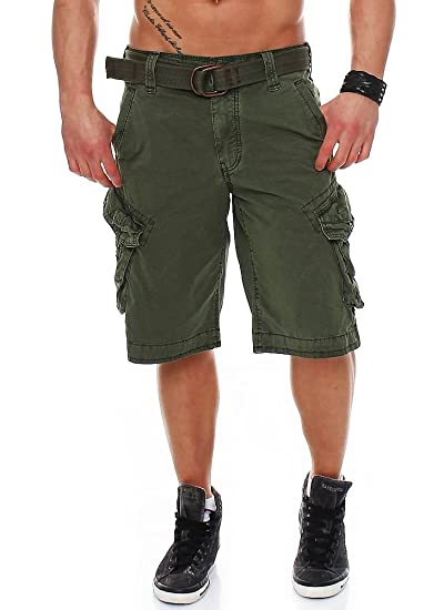 f9d9c1762ba611 JET LAG Men's Cargo Shorts with Belt Take-Off 3: Amazon.co.uk: Clothing