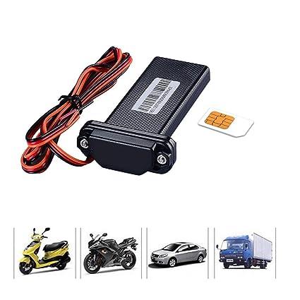 Amazon.com: Safitech Car Vehicle Motorcycle GSM GPS Tracker ...