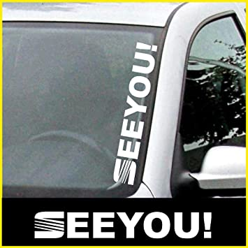Kit seat see you sticker seat sticker approximately 50 cm amp