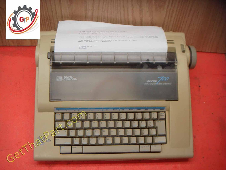 Amazon.com : Smith Corona Spellmate 700 Portable Electronic Dictionary  Typewriter : Electronic Typewriters : Electronics