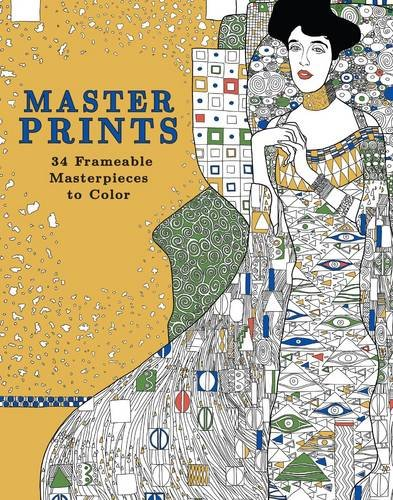 Master Prints: 34 Frameable Masterpieces to Color (The Master Prints compare prices)