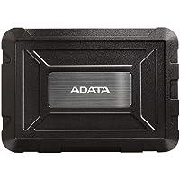 "ADATA ED600 - Carcasa de disco duro (2.5"", serial ATA III, 2.0/3.0, 3.1 Gen 1, plástico) color negro"