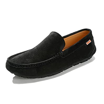 Men's Fashion Suede Penny Driving Hiking Moccasins Loafers Low-top Shoes