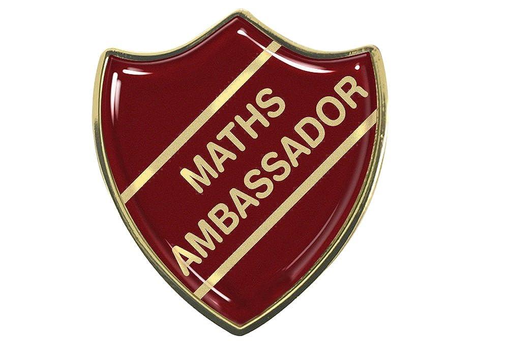 Capricornone Reading Ambassador Pack of Ten Rectangle School Badges