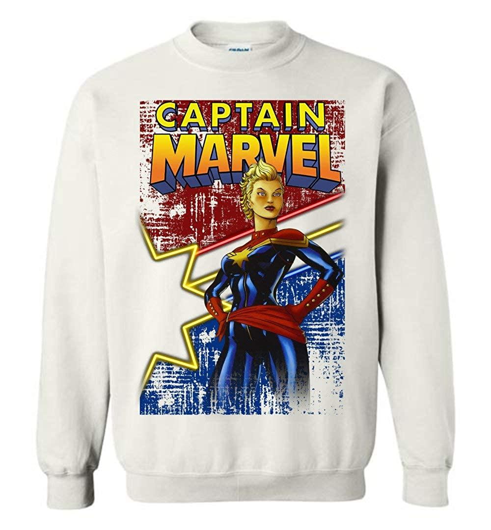 TSHIRTAMAZING Captain-Mavel Hero Comic Star Sweatshirt