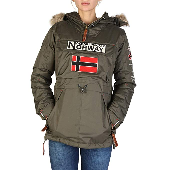 Geographical Norway Chaqueta Boomera_Woman_New Mujer Color: Verde Talla: 5