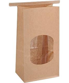Amazon.com: AQUAPAPA 50 Compostable Natural Kraft Tin Tie ...