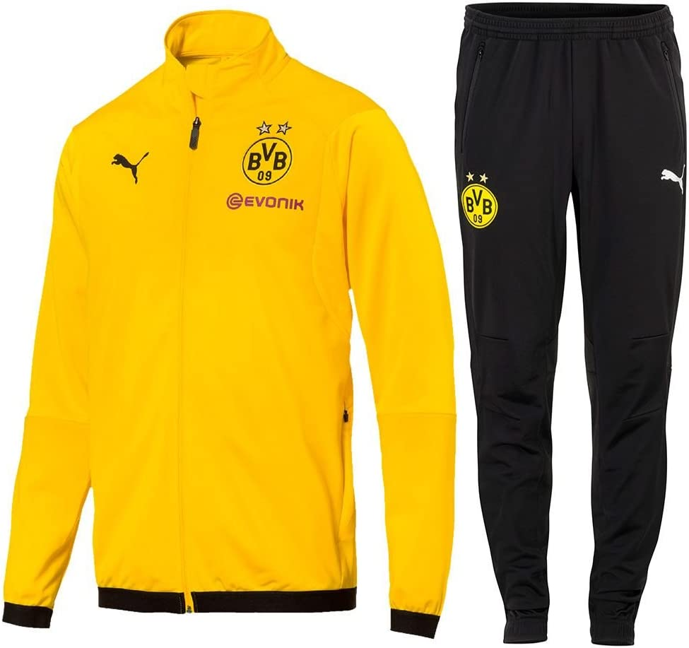 PUMA Fútbol Borussia Dortmund Poly Chándal 2018 2019 Chaqueta ...