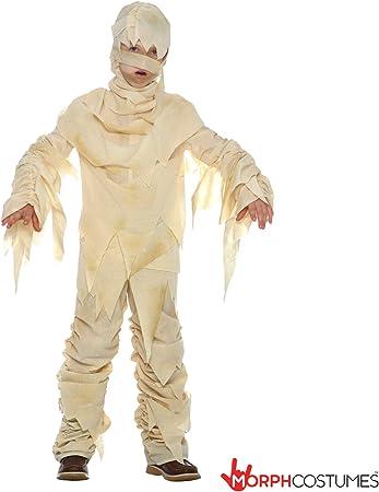 Momia egipcia ancestral Disfraz - Pequeño - (3 - 5 años): Amazon ...