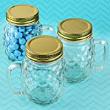 Best Fashioncraft Glass Jars - FavorOnline Perfectly Plain Collection Mini Pineapple Glass Mason Review