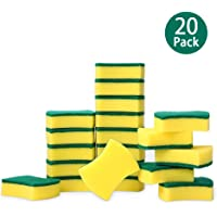 20-Pack Esonmus Heavy Duty Cleaning Scrub Sponge