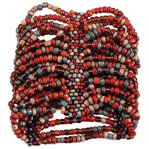 Copper Cuff Design - Curious Designs Cuff Bracelet - Sedona Theme - Beaded Stretch