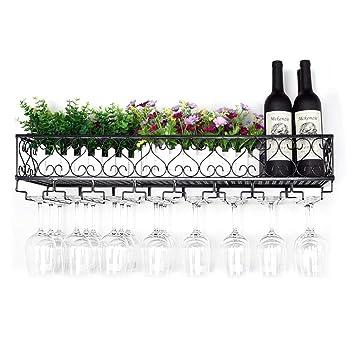 Portavasos Colgante Estante para Copas de Vino Wine Shelve ...