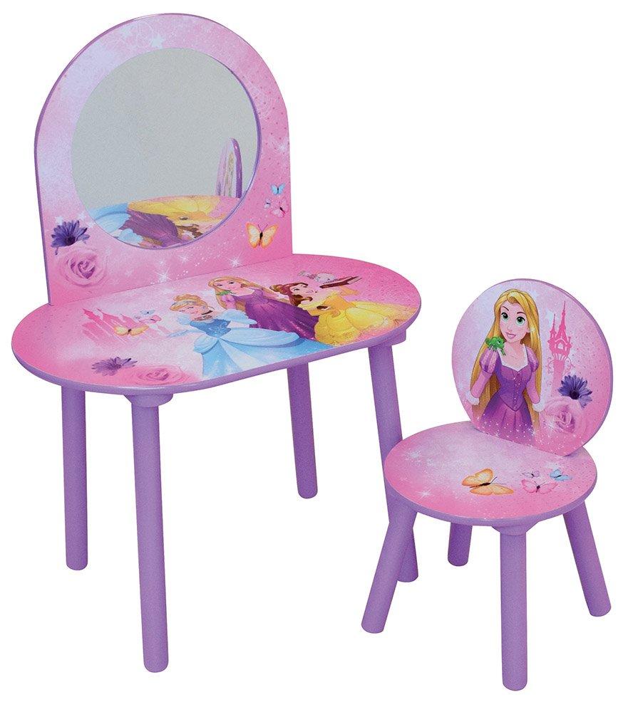 Fun House Disney Princess Dressing Table with Stool–MDF, 60x 40x 84cm CIJEP 712831