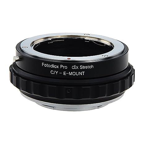 Fotodiox DLX Stretch Adaptador de Montura de Lente - Contax ...