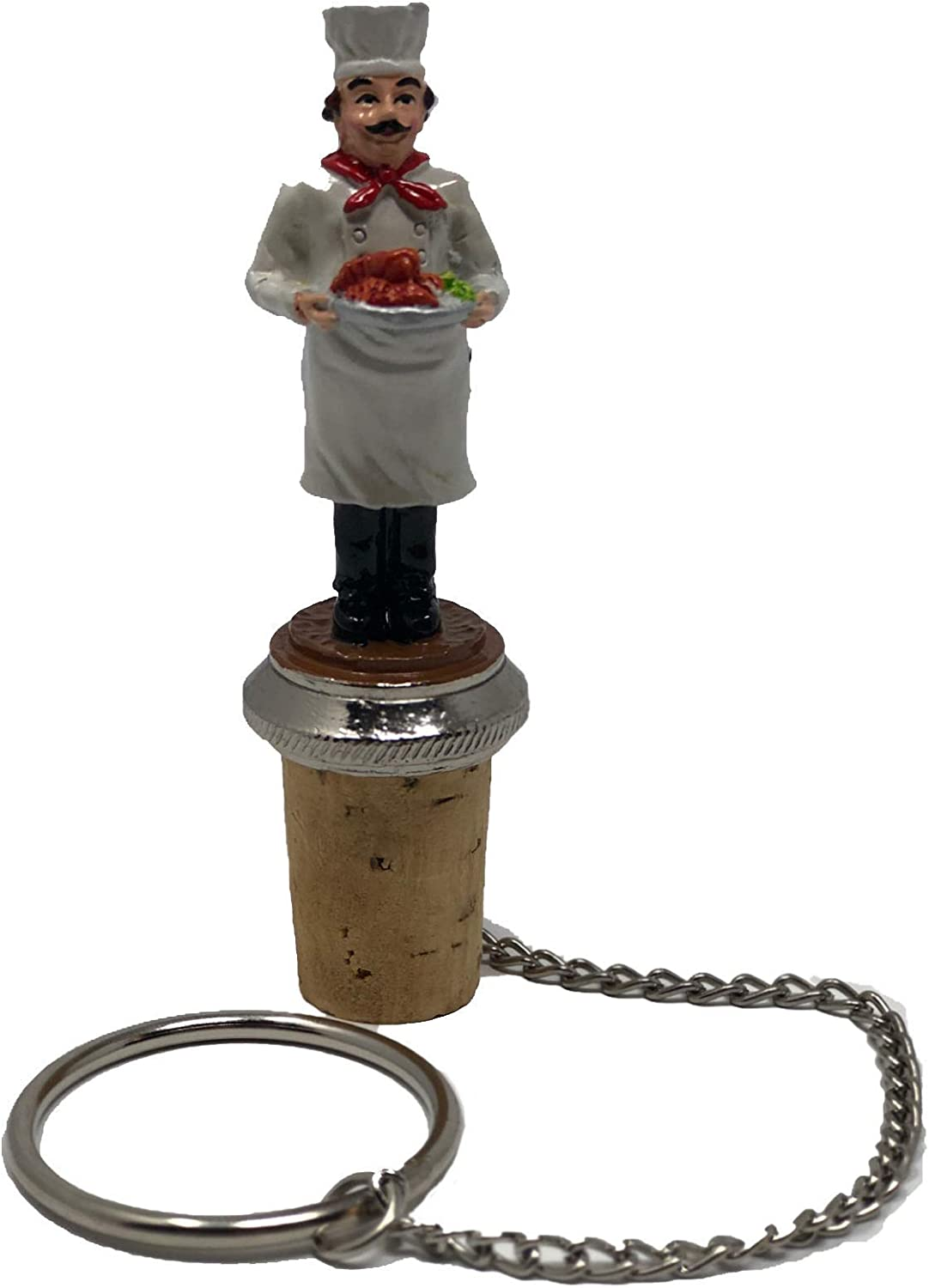 Chef Wine and Beverage Bottle Stopper
