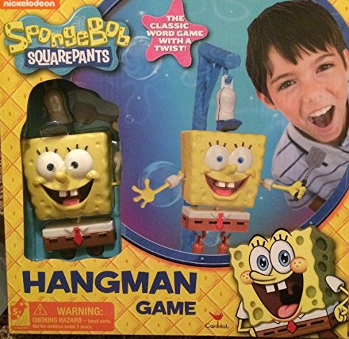 Spongebob Squarepants Hangman (Spongebob Squarepants Spongebob Board Game)