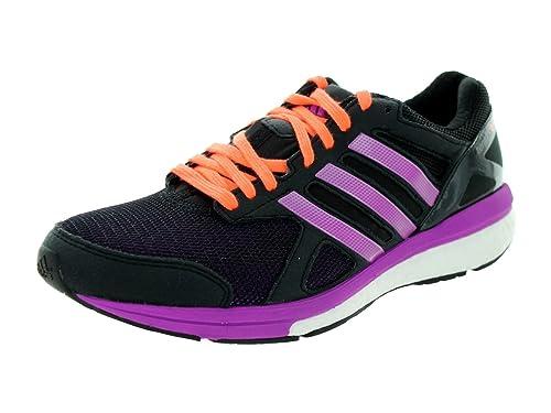 83de0b93f0c3 Adidas Adizero Tempo 7 Womens Running Shoe Black Purple Peach 10 B(M) US   Amazon.in  Shoes   Handbags