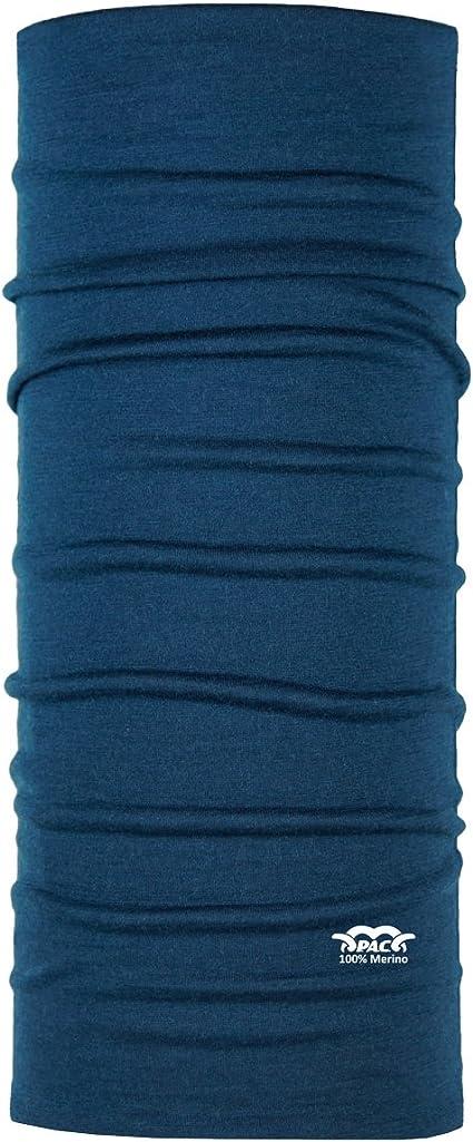 Kopftuch Halstuch P.A.C Merino Tech Pink Rose Multifunktionstuch 10 Anwendungsm/öglichkeiten Schal funktionelles Schlauchtuch Unisex
