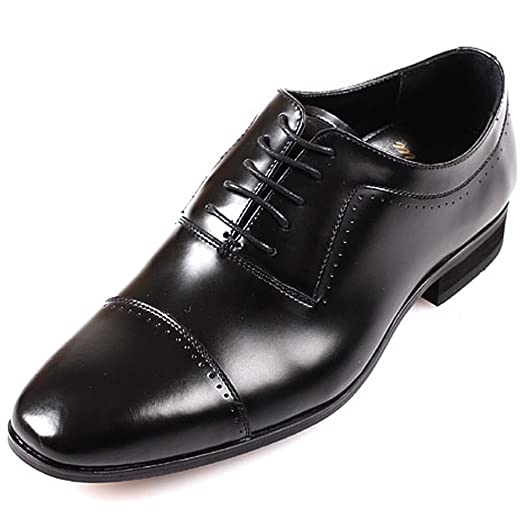 New Mooda Leather Men Formal Straight Tip Dress Casual Fashion Loafers Shoes