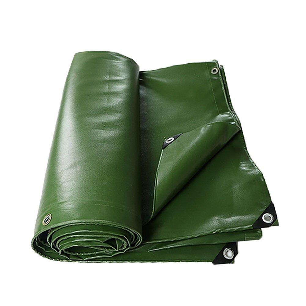 LYXPUZI BÂche de Camion Toile Toile imperméable   bÂche de Prougeection Poncho Parasol Porter Tissu drapé   BÂche imperméable en PVC  5m×10m