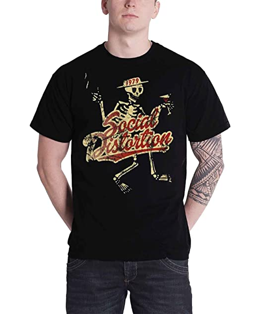 SOCIAL DISTORTION SKELLY MEN/'S SIZES PUNK ROCK T SHIRT