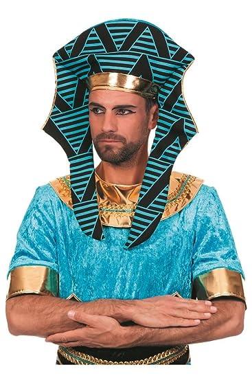 Wilbers Kostum Zubehor Agypter Kopfbedeckung Pharao Karneval