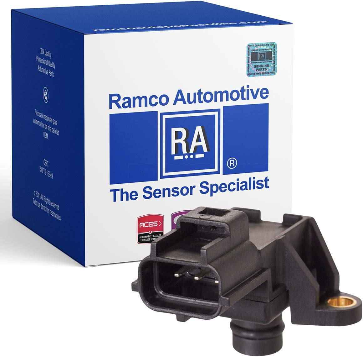 RA-MS1006 Compatible with Wells SU3185 Ramco Automotive Manifold Absolute Pressure Sensor Standard Motor Products AS141 AS91