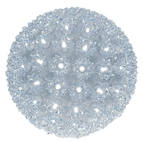 Novelty Lights 150 Light Outdoor Christmas LED Starlight Sphere, Pure White, 10