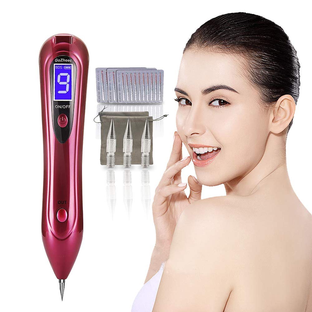 Gozheec Skin Tags Removal Mole Removal Pen Protable 9 Strength Levels Beauty Pen Red Buy Online In Bahamas Gozheec Products In Bahamas See Prices Reviews And Free Delivery Over Bsd80 Desertcart