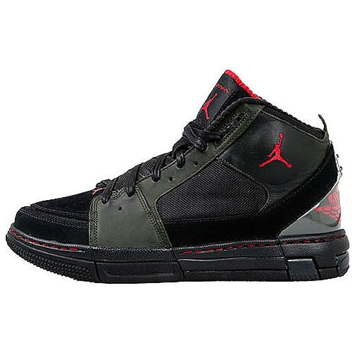 3f214f5bb40 Amazon.com | Nike Air Jordan OL'School II LS Army/Red/Black Mens Basketball  Shoes 332221-361 (11) | Shoes